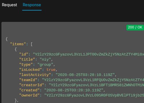 WebEx response