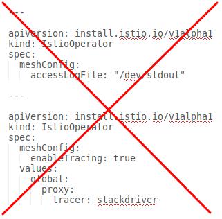 Mehrere CRs in einer YAML-Datei