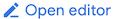 """Botão """"Editor de código"""""""