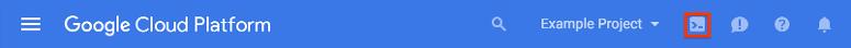 Activar GoogleCloudShell