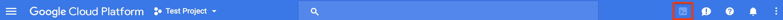 Google Cloud Shell の有効化