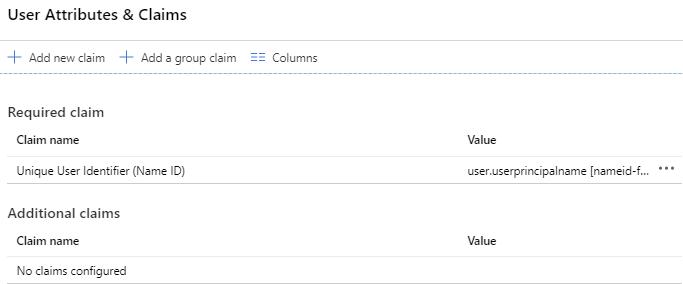 Caixa de diálogo Atributos e declarações do usuário