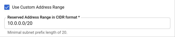 IP address range