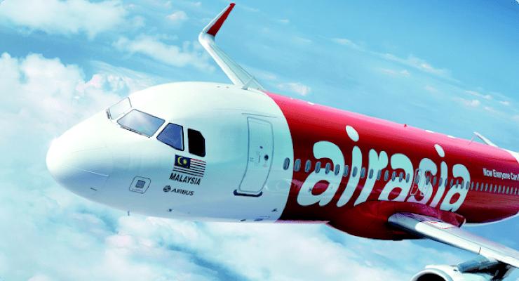 Bild: Flugzeug von AirAsia