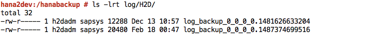 Backup List2
