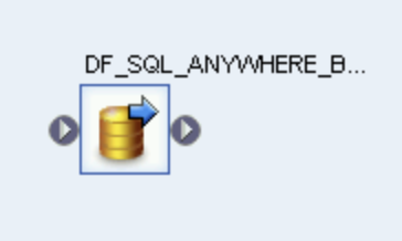 Captura de pantalla del ícono del flujo de datos.