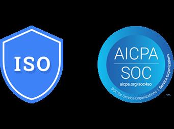 ISO 27001, Control de organización de servicio (SOC) 1, Control de organización de servicio (SOC) 2, Control de organización de servicio (SOC) 3