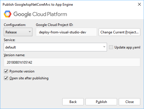 App Engine Deployment