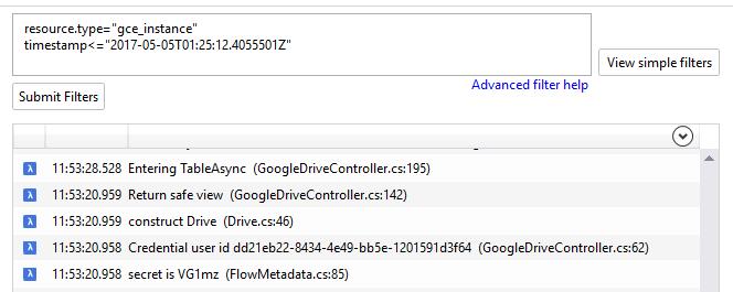Imagem que mostra a barra de filtro avançada