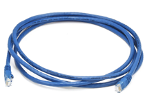 A photo depicting a Category 6 network cable
