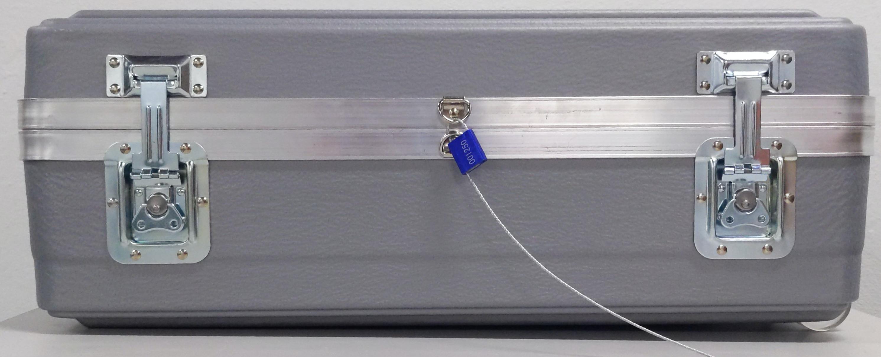Anneaux en D sécurisés par un câble de scellé de sécurité