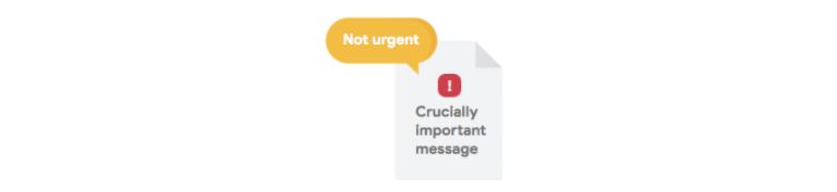 optimize as not urgent
