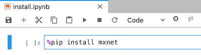 Einer Notebookzelle Code hinzufügen