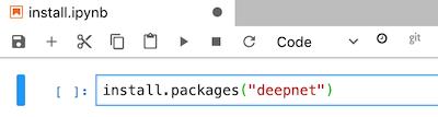 ノートブック セルにコードを追加する