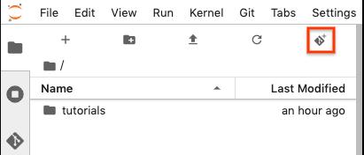 Clone repository button