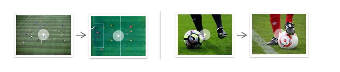 训练图片与预期输出图片相匹配