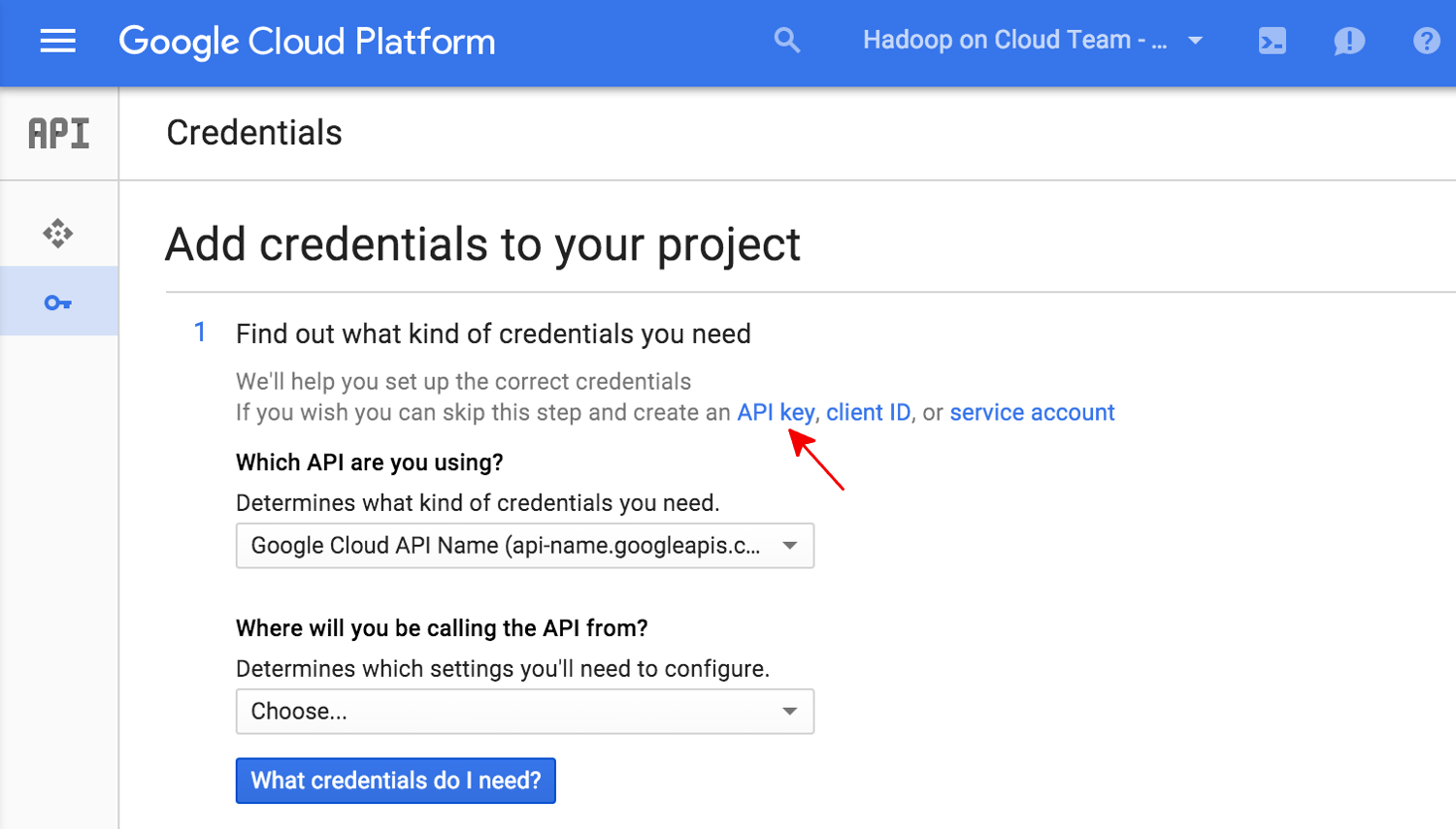 Authenticating to a Cloud API Service | Cloud Video Intelligence API