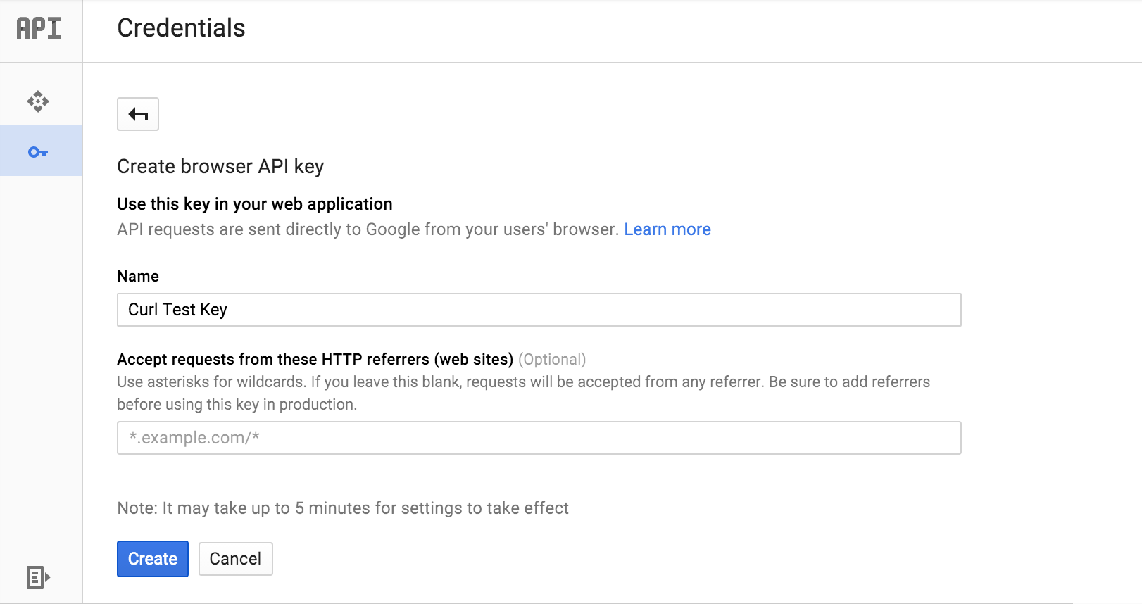 Authenticating to a Cloud API Service | Cloud Video Intelligence API