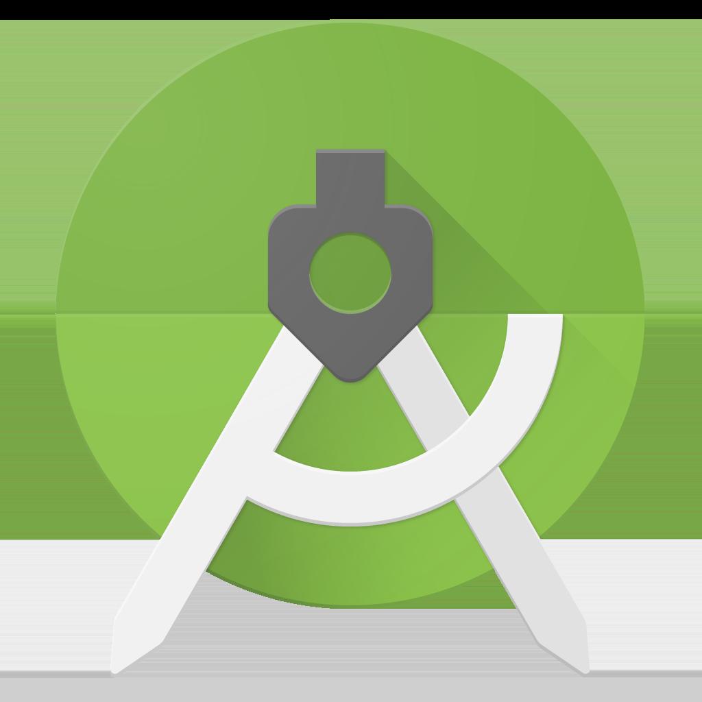 Ícone Iniciar do Android Studio