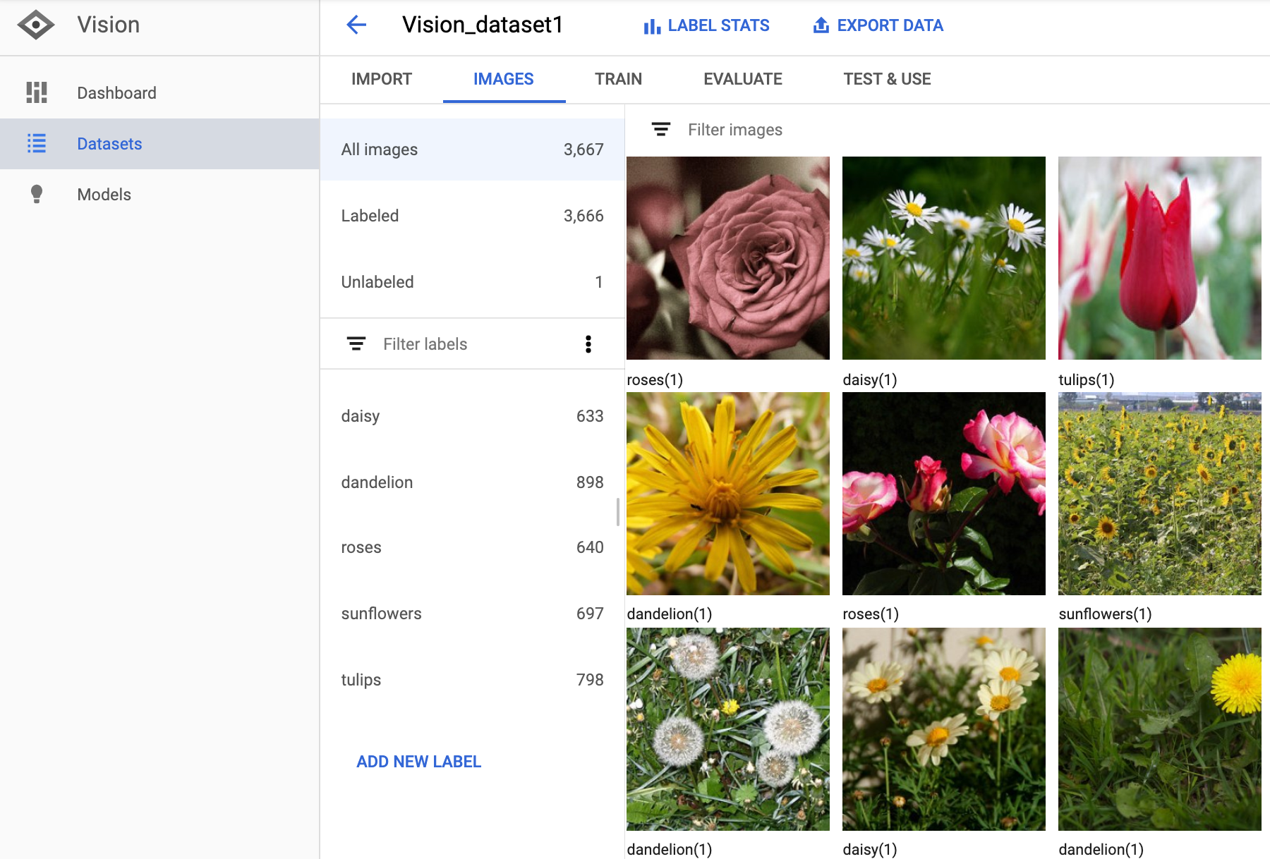 Images page