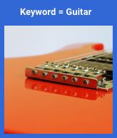 imagem irrelevante combinada com pesquisa de violão