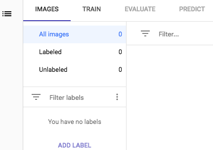 Filtering by label example