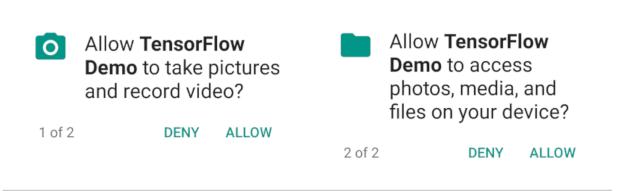 allow camera access windows