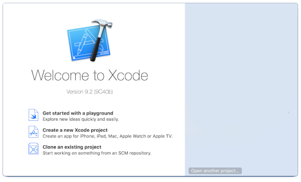 Xcode 界面