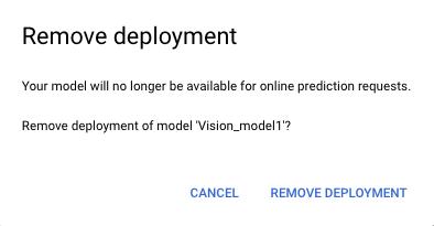 model deploying