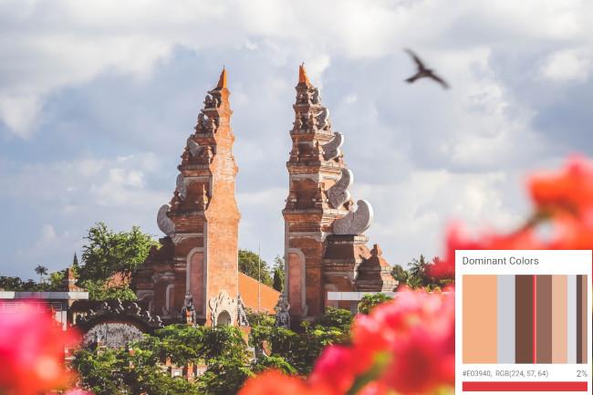 Imagem de Bali com propriedades