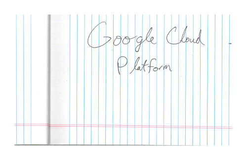 Detect handwriting in images | Cloud Vision API | Google Cloud
