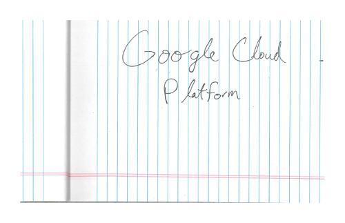 imagem de escrita à mão