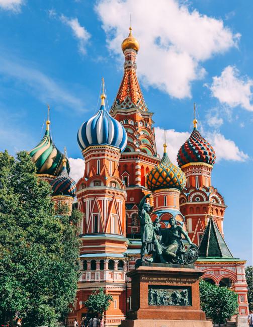 聖ワシリイ大聖堂の画像