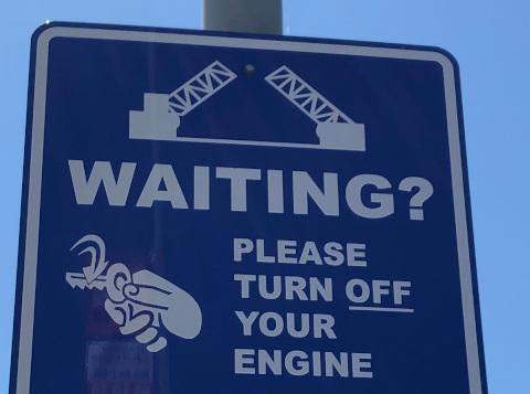 Image d'un panneau de signalisation