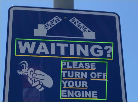 도로 표지판 이미지